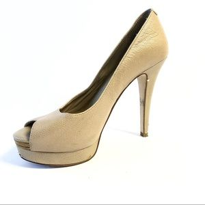 BCBGeneration Sasha High Heel Peep Toe Pump
